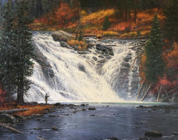 Lewis Falls by Mark Keathley