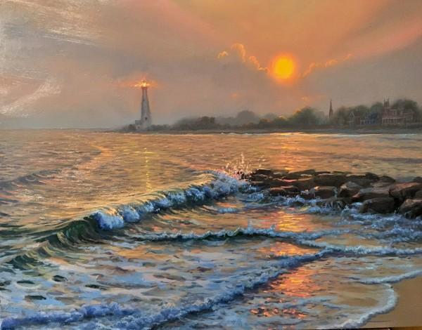 Cape May light by Mark Keathley