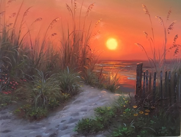 Path to peace by Mark Keathley