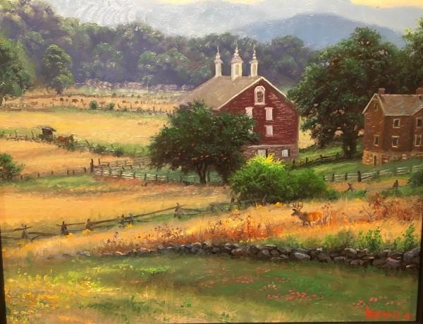Pennsylvania pastoral  by Mark Keathley