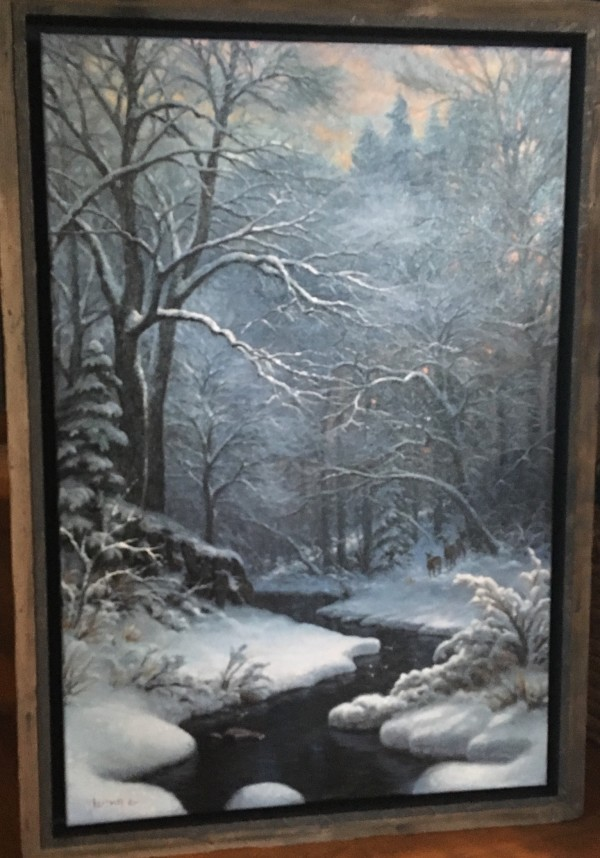 Winter Repose by Mark Keathley