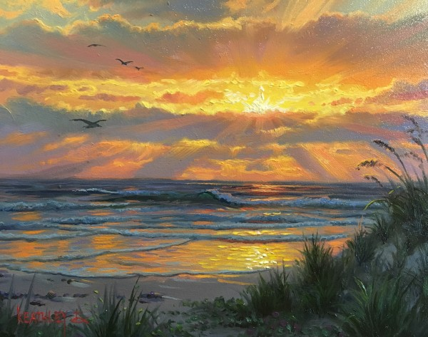 Coastal glory by Mark Keathley