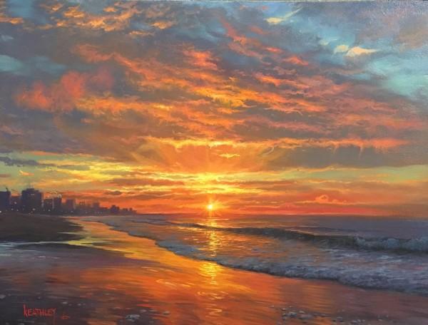 Myrtle beach morning  by Mark Keathley