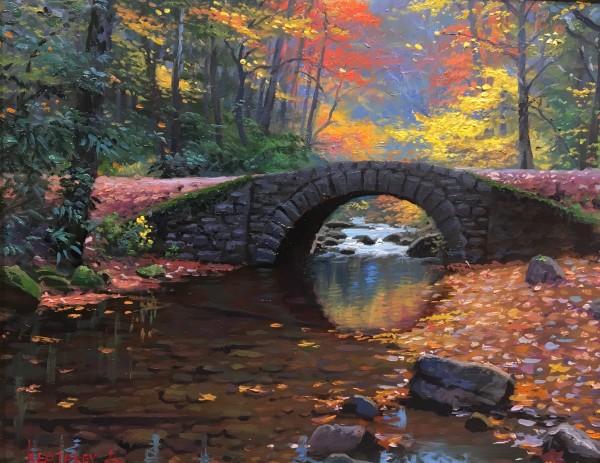Graceful Bridge by Mark Keathley