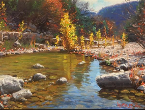 sabinal river  hues by Mark Keathley