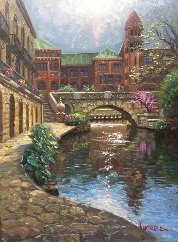 Morning Light on the Riverwalk by Mark Keathley