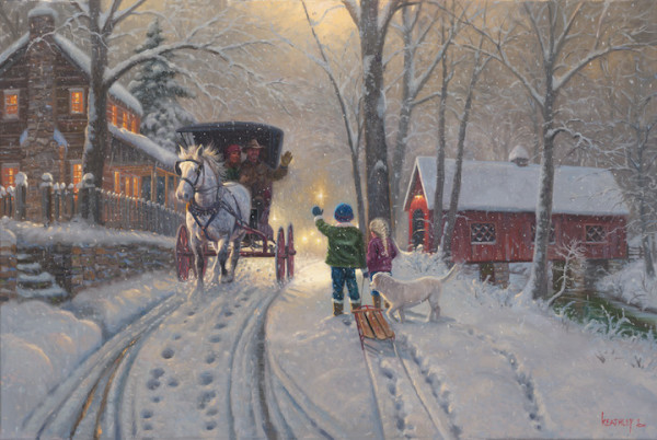 Community of Warmth by Mark Keathley