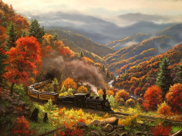 Great Smoky Mountain Railway by Mark Keathley