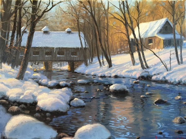 Morning at Emmerets cove by Mark Keathley