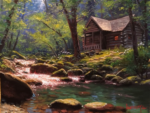 Peaceful Refuge by Mark Keathley
