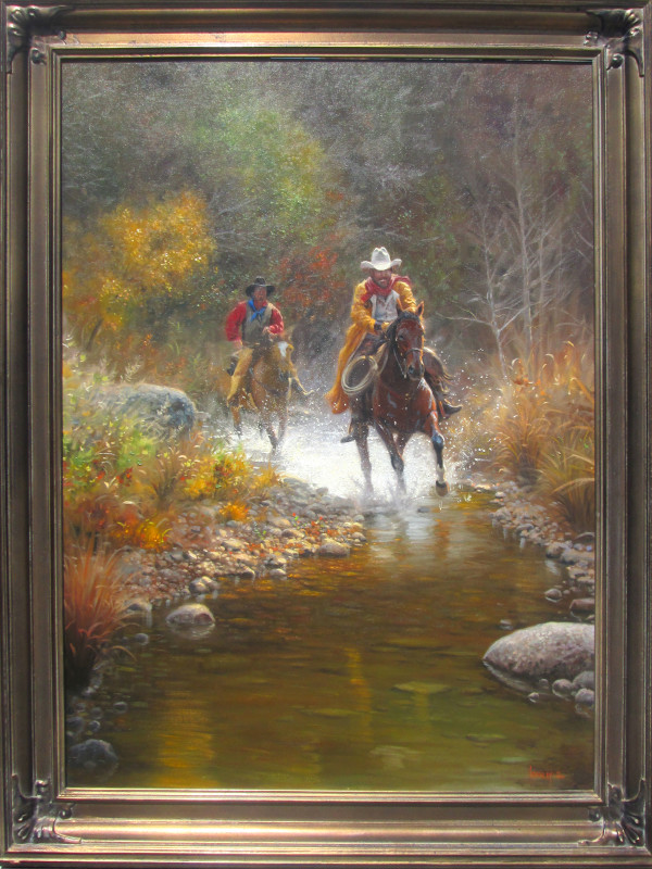 Low Water Crossing by Mark Keathley