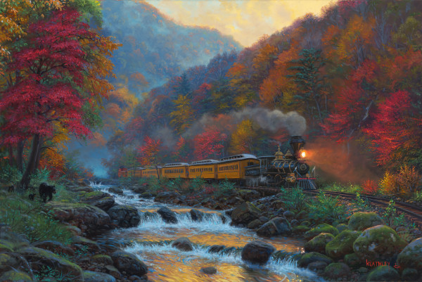 Smoky Train by Mark Keathley