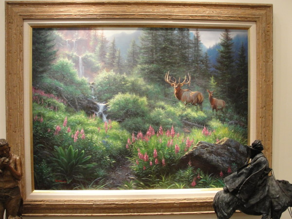 summer elk  by Mark Keathley