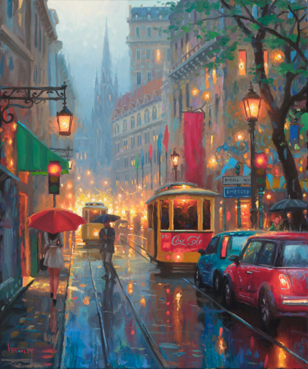 City Lights by Mark Keathley