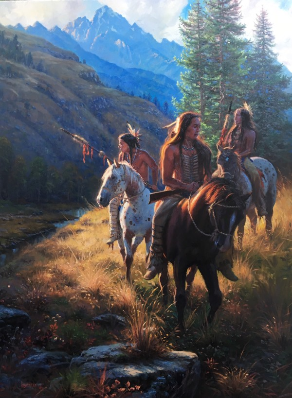 Teton Harmony by Mark Keathley