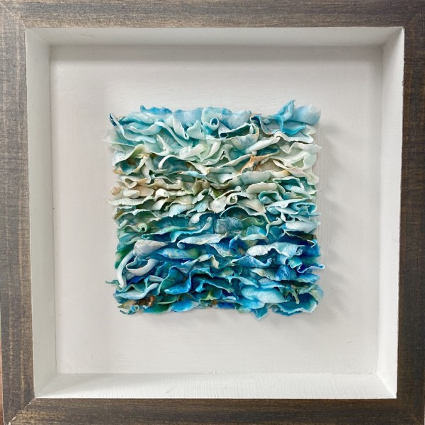Recycle, Spelled with two Seas by Christine Deemer