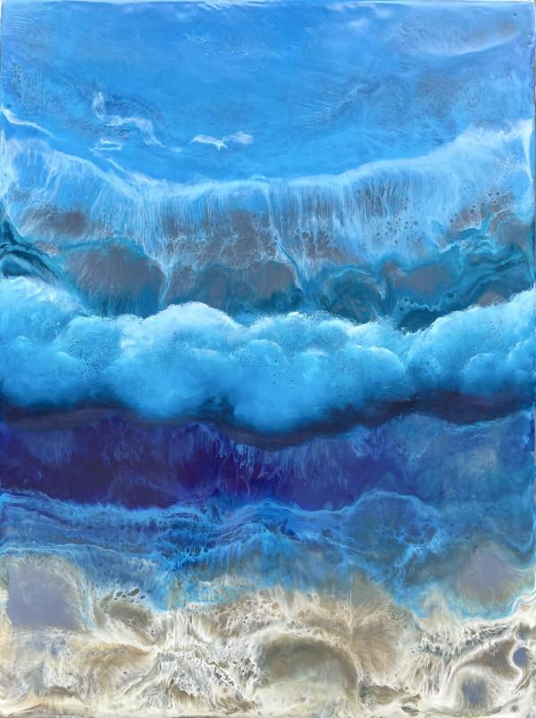 Backside of an Ocean Barrel by Christine Deemer