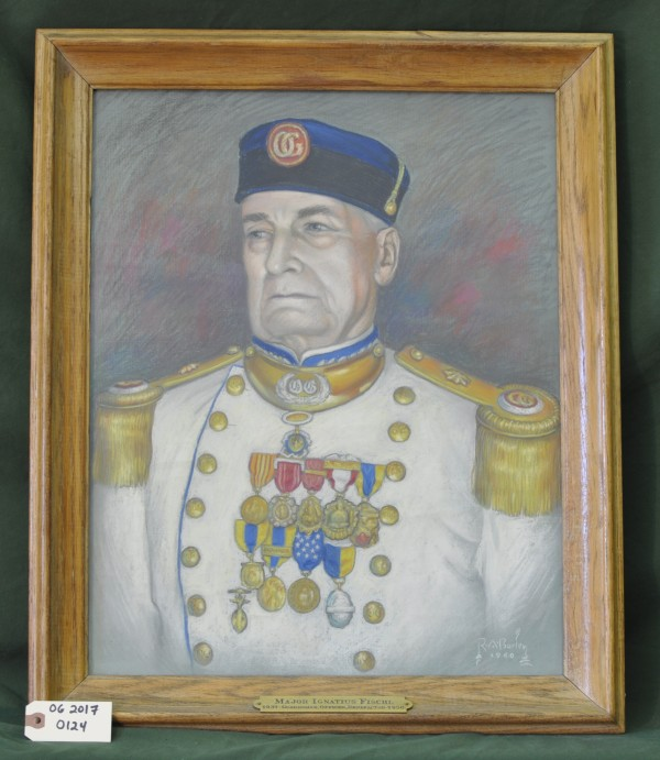 Portrait of Major Ignatius Fischl by R.A. Burley
