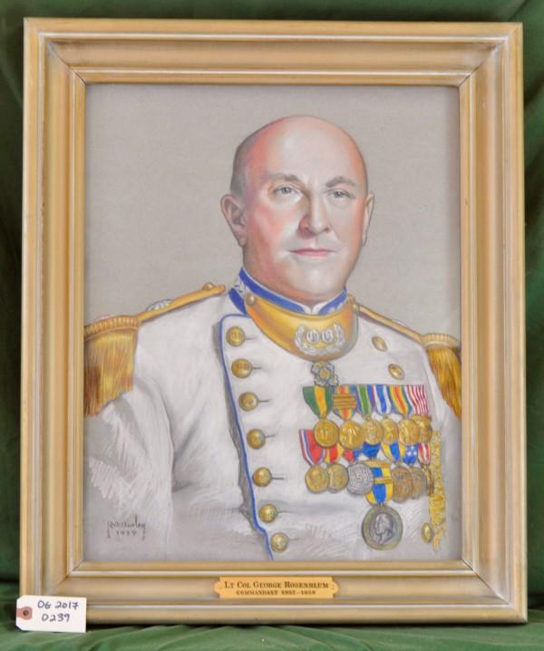 Commandant Lt. Col. George Rosenblum