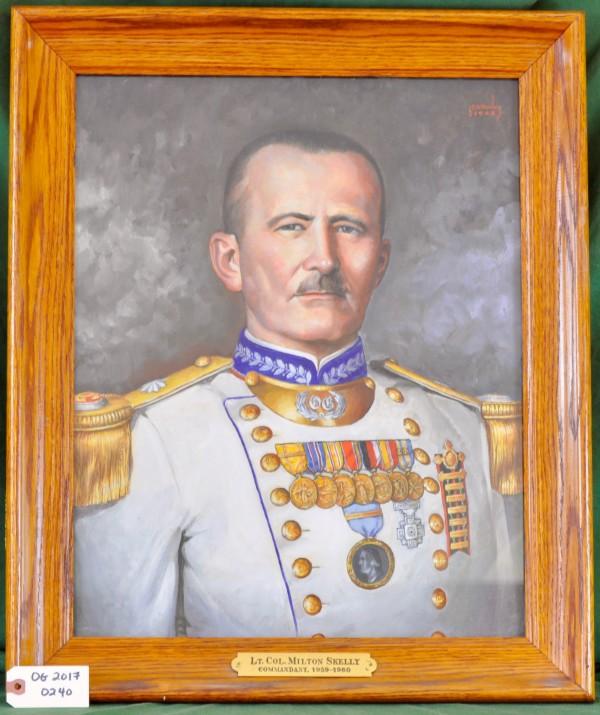 Commandant Lt. Col. Milton Skelly