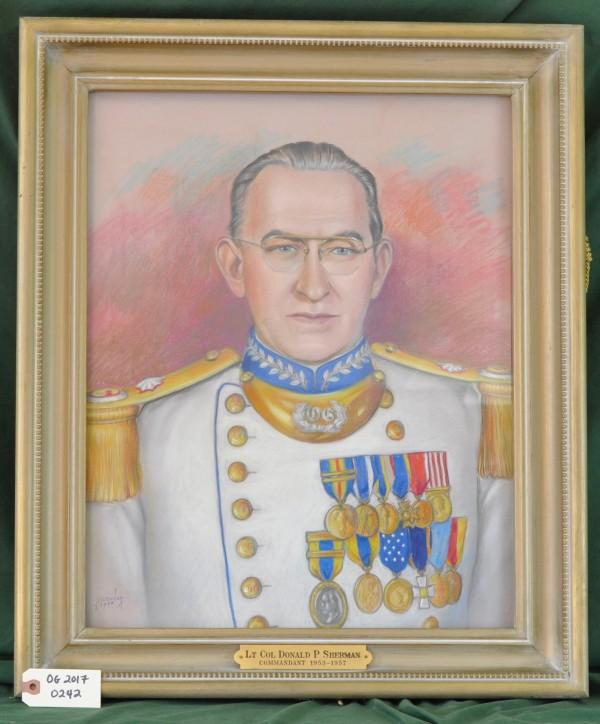 Commandant Lt. Col. Donald P.Sherman