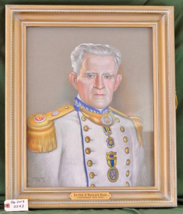Commandant Lt. Col. J. Wallace Reid