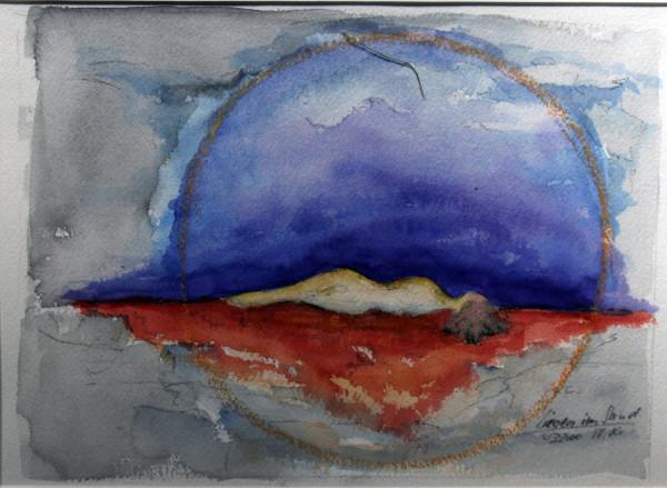 liegen im Sand by Stefan Krauch
