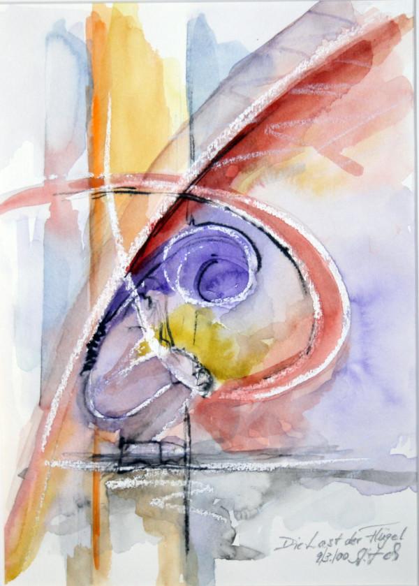 Die Last der Flügel by Stefan Krauch