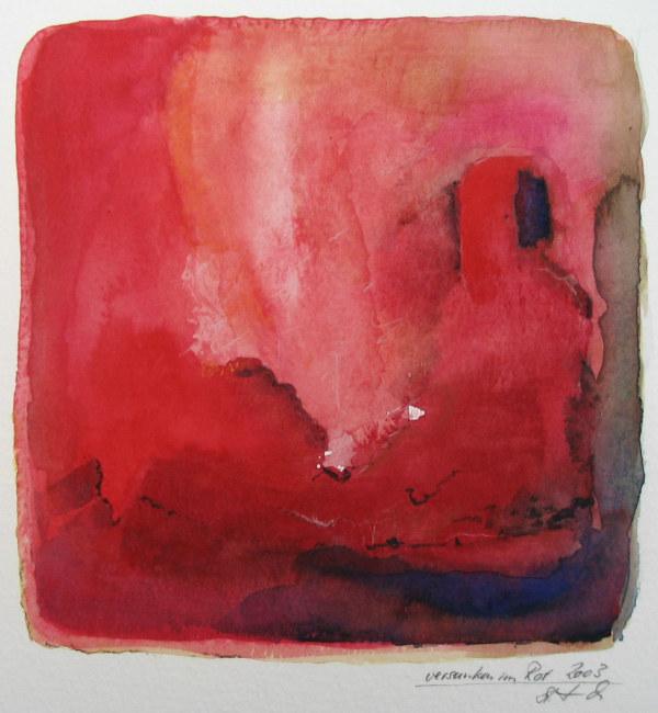 versunken im Rot by Stefan Krauch