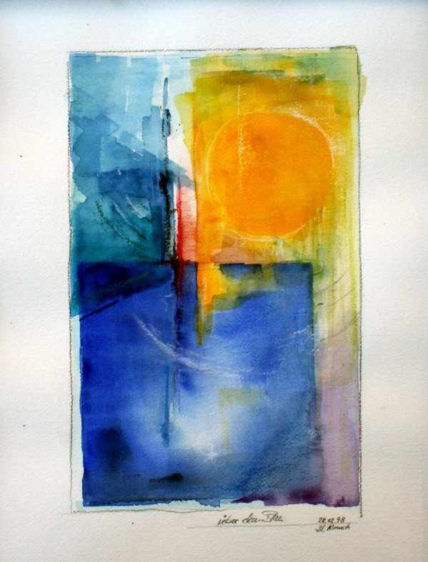 über dem Blau by Stefan Krauch