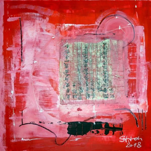 Chinesisch  in Rot by Stefan Krauch