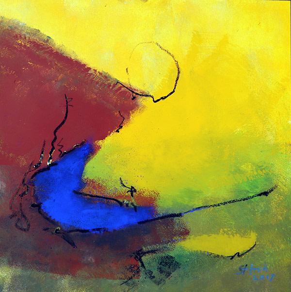 sehr blau by Stefan Krauch