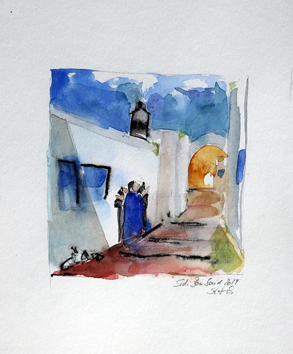 Sidi Bou Said by Stefan Krauch