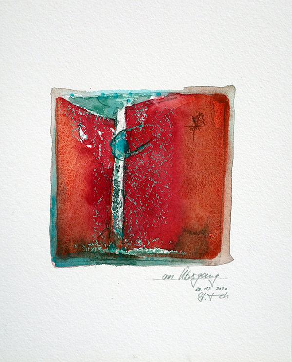 am Übergang by Stefan Krauch
