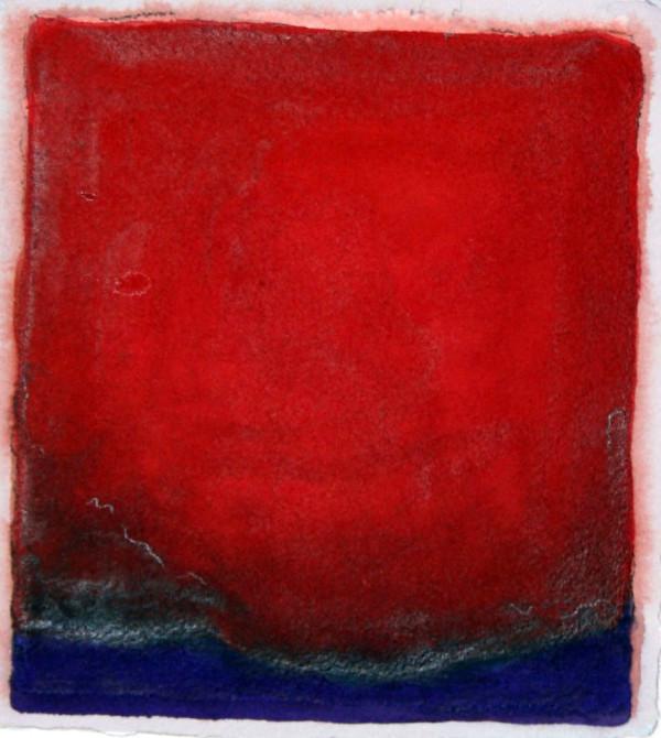 rot über blau by Stefan Krauch