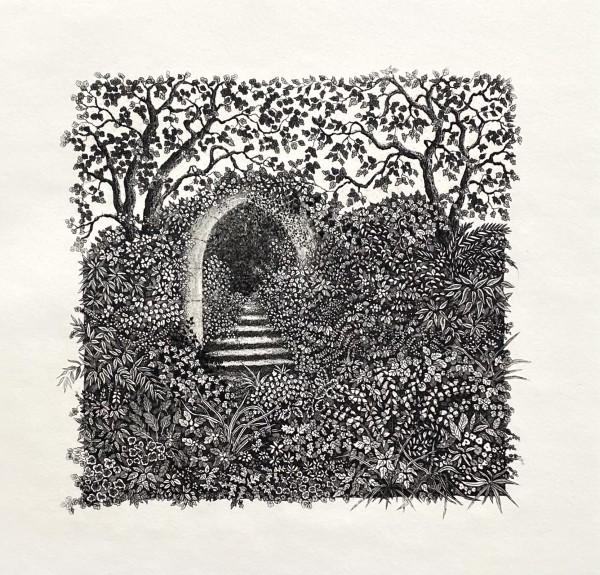 Garden archway by stephanie Jane Rampton