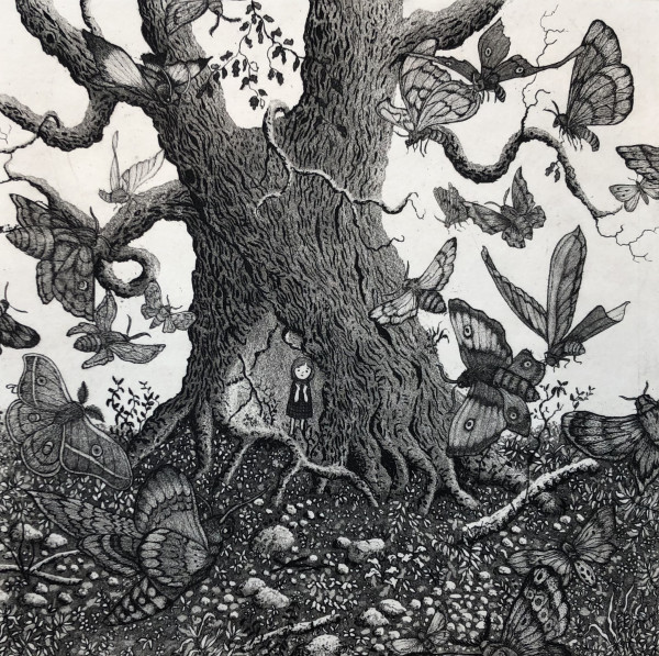 moth tree by stephanie Jane Rampton