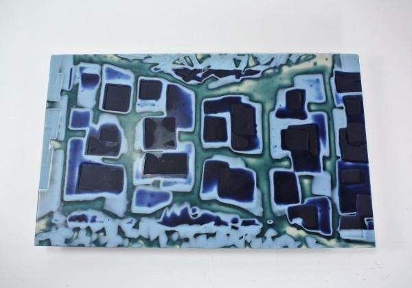 Blue Maze by Silvana Ferrario