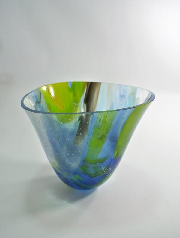 Blue Skies 8 by Silvana Ferrario