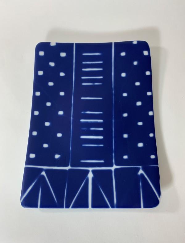 Indigo: blue of 1000 years 33 by Silvana Ferrario