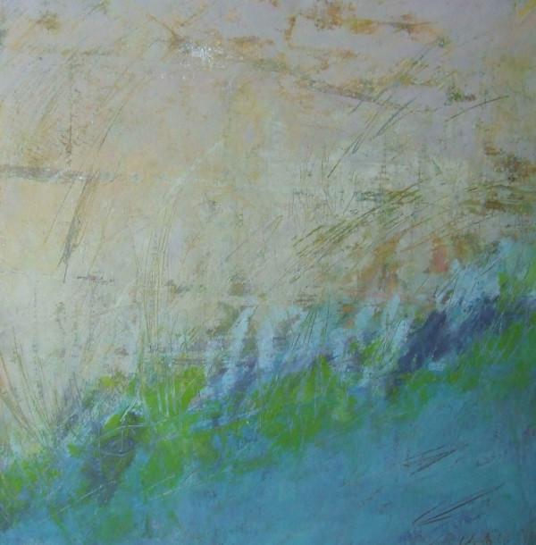 Wistful, 12x12 by Ginnie Cappaert