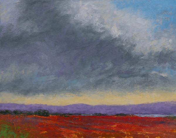 Purple Hills by Sheryl Tempchin