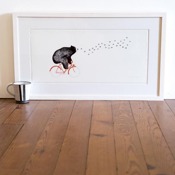 In Pursuit of Honey (Framed) by Lillias Kinsman-Blake