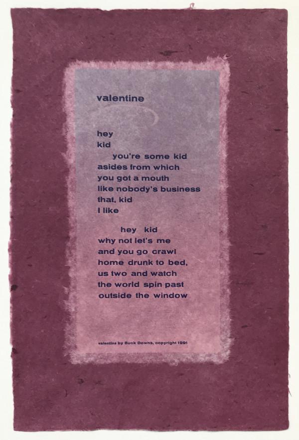 Valentine by Buck Downs