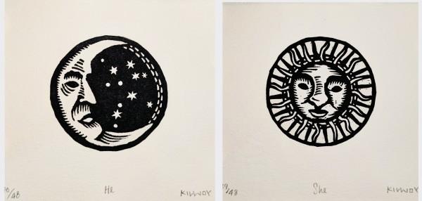 He (moon)/She (sun)