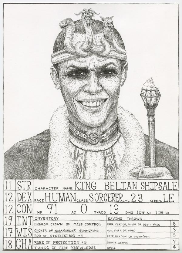 King Belian Shipsale (Obama)