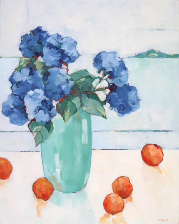 Hydrangeas by the Sea by Beth Munro