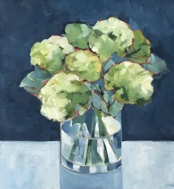 Hydrangea Study II by Beth Munro