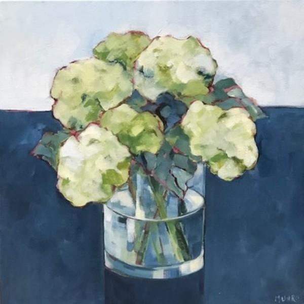 Hydrangea Study I by Beth Munro