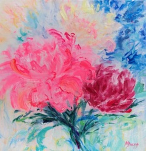 Peony Pizzazz 1 by Margaret Bragg